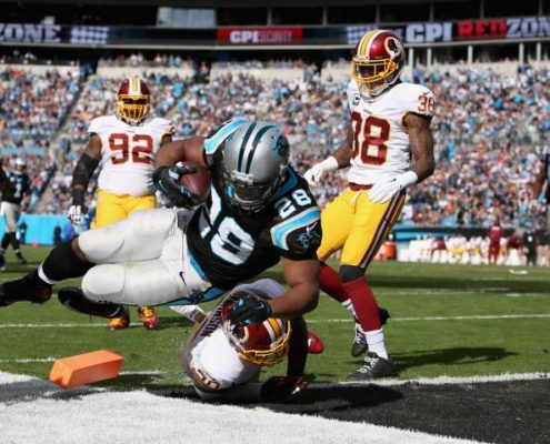 Panthers vs Redskins