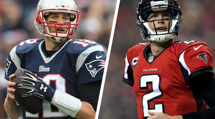 Patriots vs Falcons