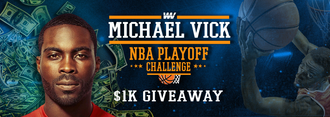 WinView $1K Mike Vick Giveaway